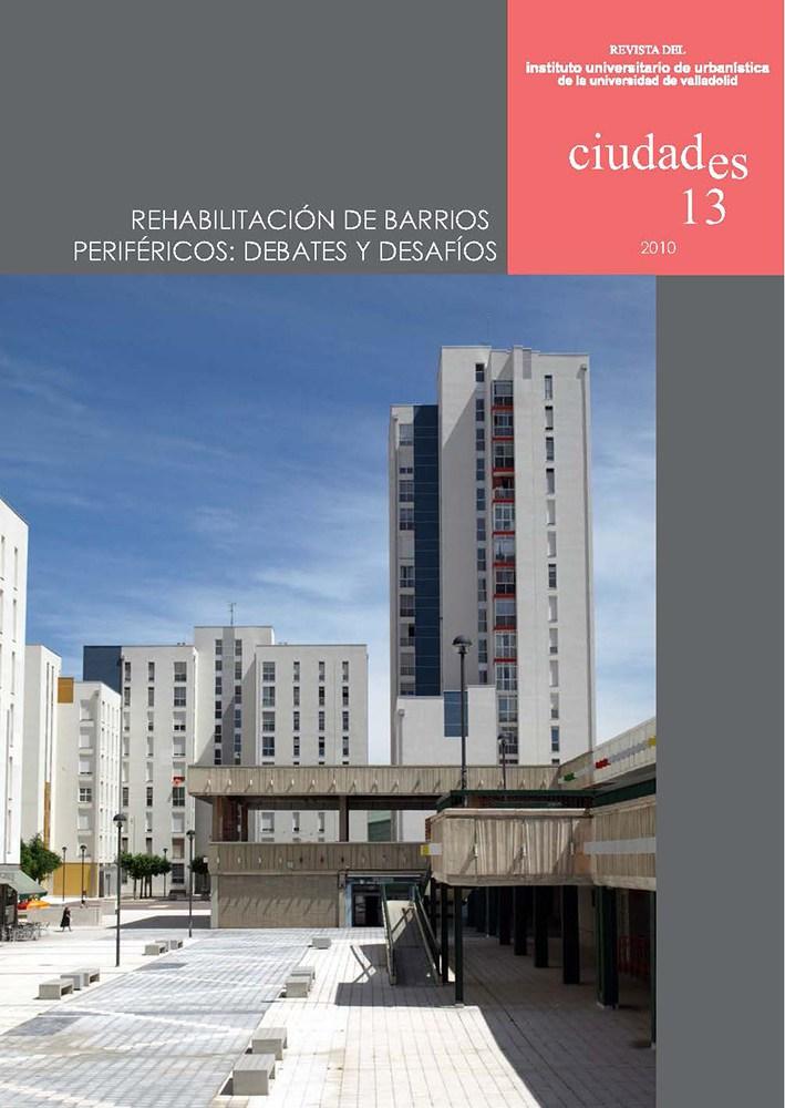 Portada Ciudades 13, 2010 (Burgos)