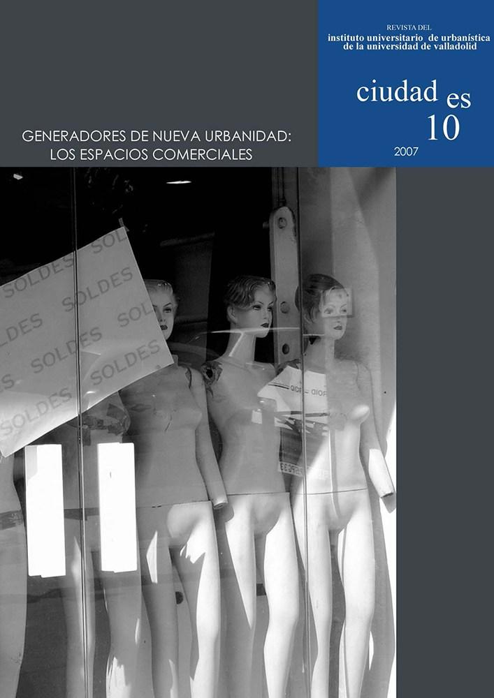 Portada Ciudades 10, 2007 (Burdeos)