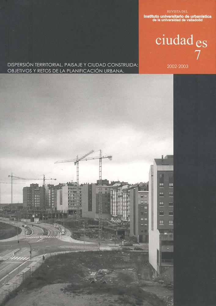 Portada Ciudades 07, 2002-2003 (Valladolid)