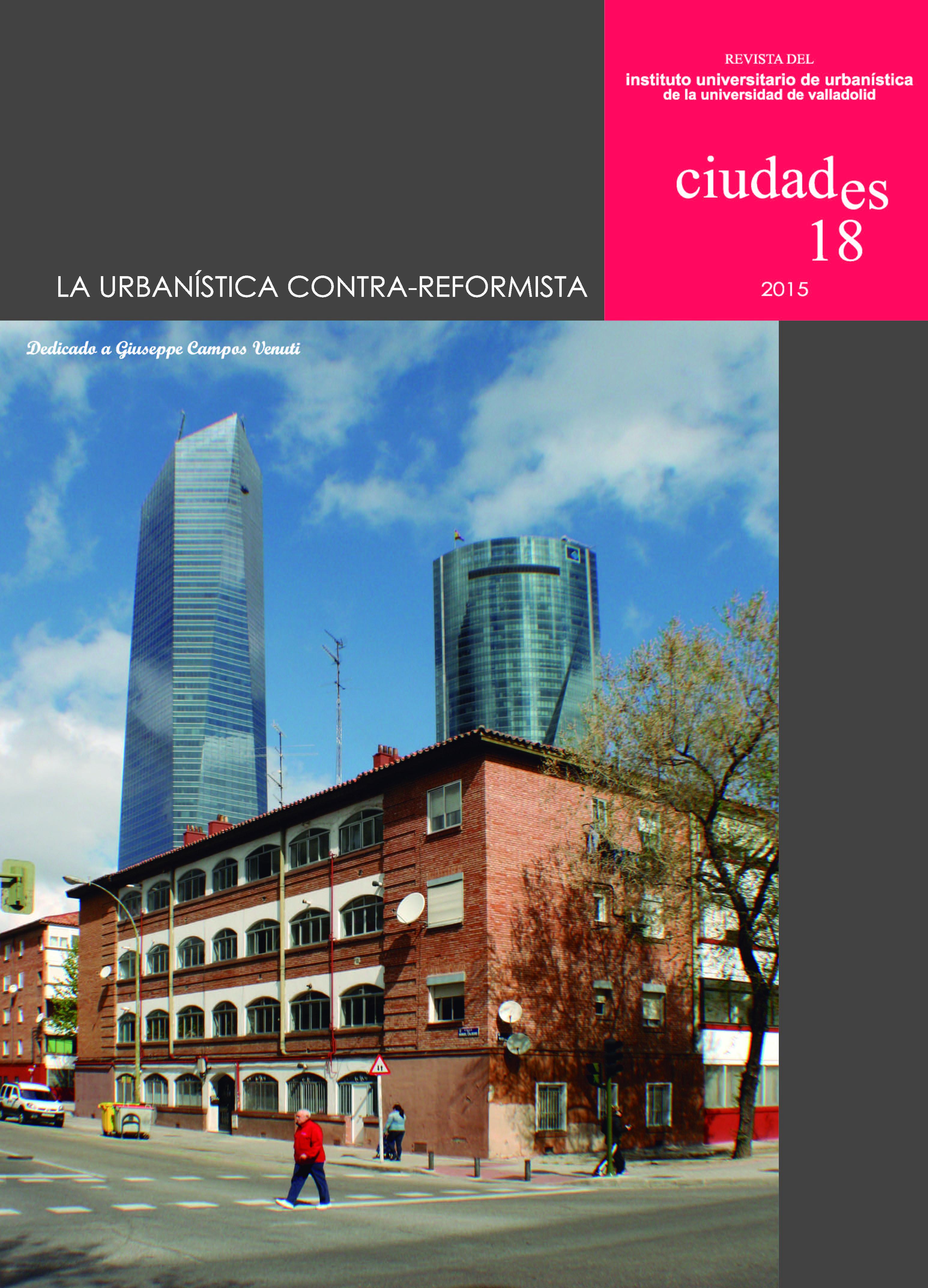 Portada Ciudades 18, 2015 (Madrid)